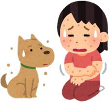 犬アレルギーのといぷねっとワタシ